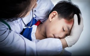 Head examination